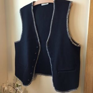 Vintage Le Chateau Wool Vest